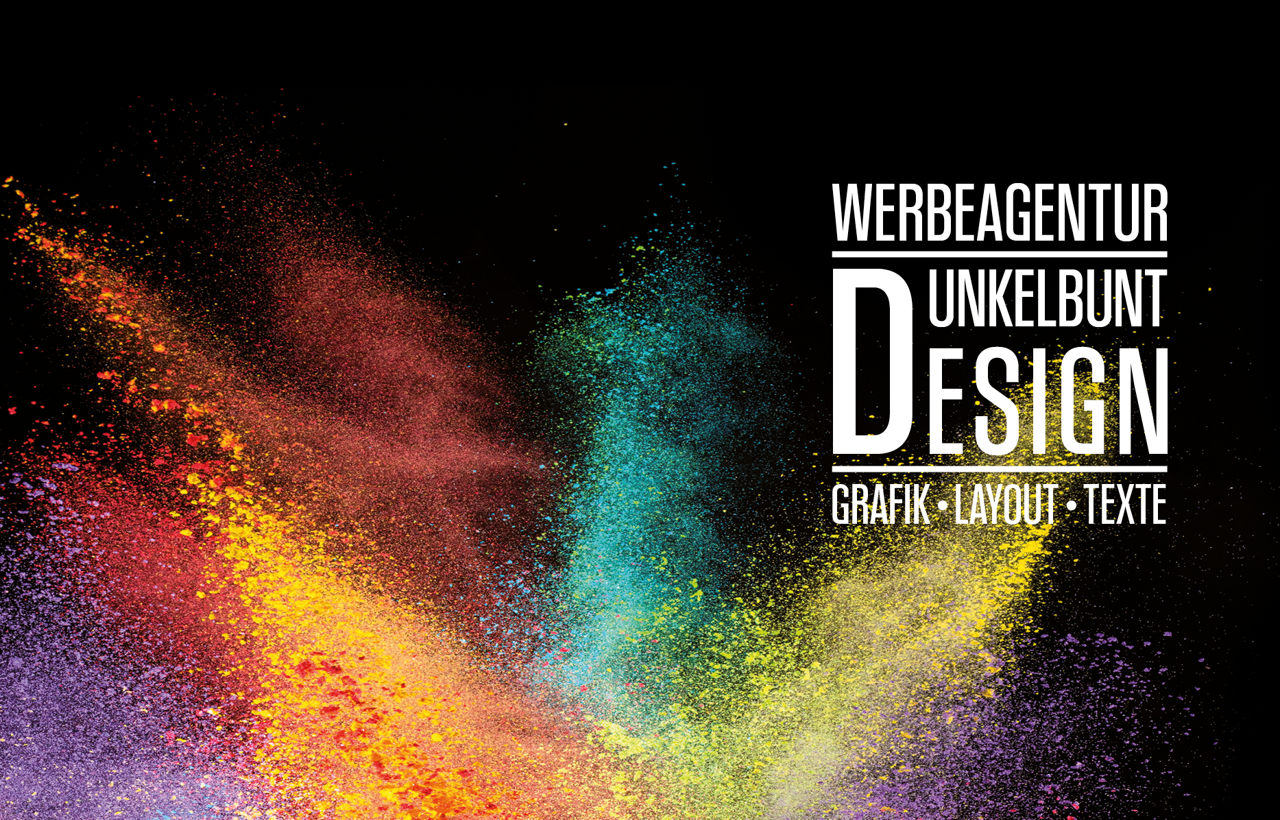 WerbeagenturDunkelbunt Design